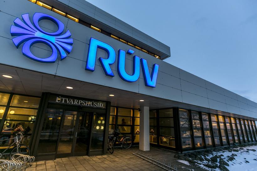 RÚV headquarters in Reykjavik.