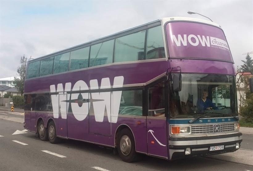The WOW Cyclothon bus in 2015.