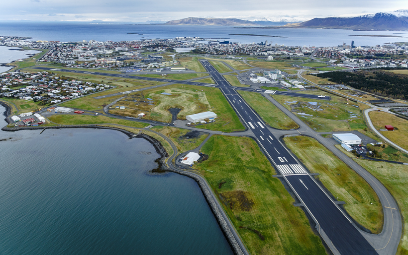 Reykjavik Airport has been located in Vatnsmýri for seventy years.