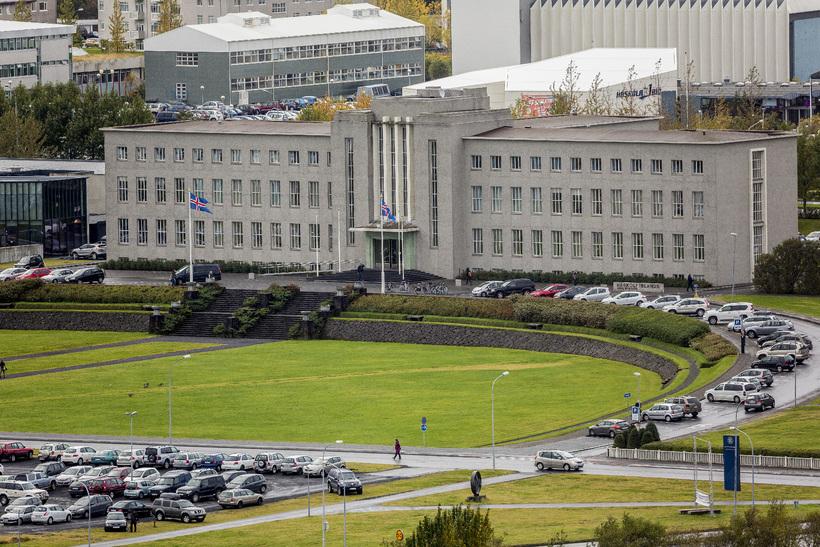 The University of Iceland.