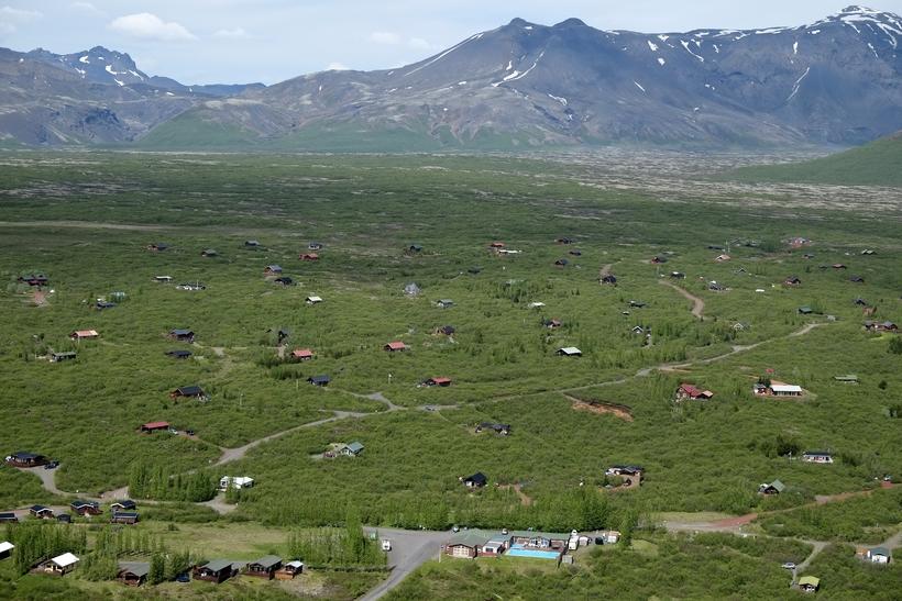 Sumarbústaðabyggð í landi Úthlíðar í Biskupstungum.