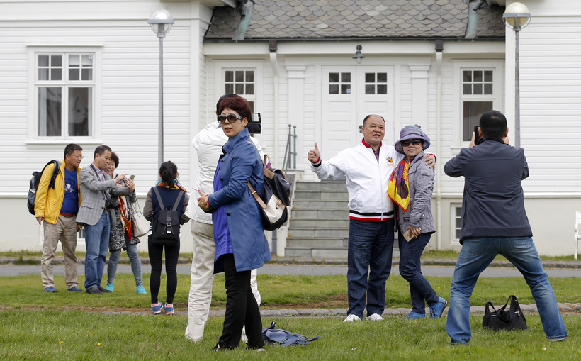 Tourists numbers are rising in Iceland but the increase is …