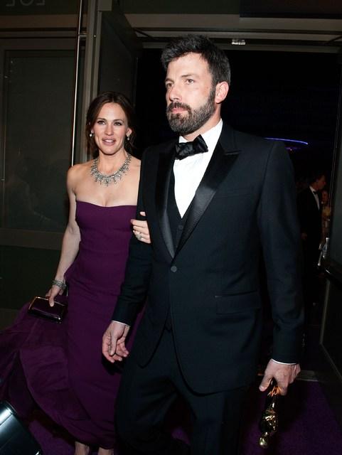Jennifer Garner og Ben Affleck voru gift.
