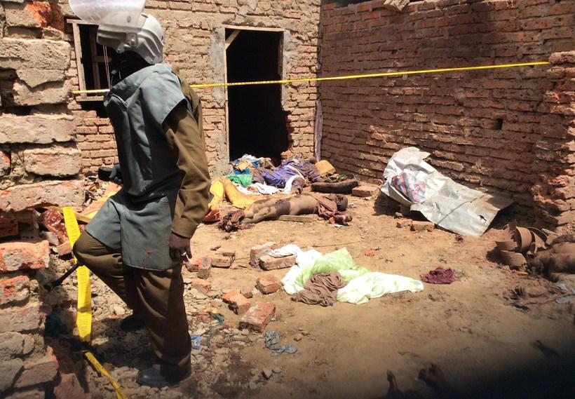Fórnarlömb árása Boko Haram.