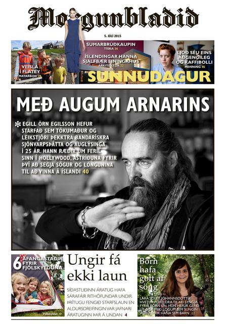 Lestu greinina í heild sinni í Sunnudagsblaði Morgunblaðsins