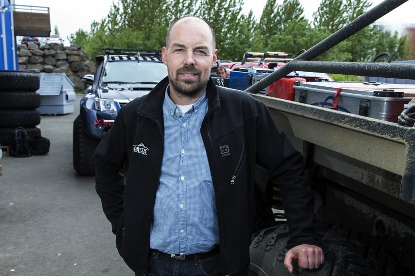 Eðvarð Þór Williamsson, framkvæmdastjóri Arctic trucks.