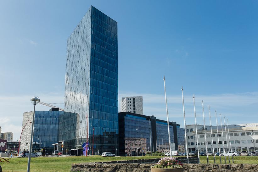 Höfðatorg tower.