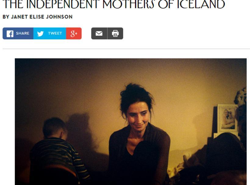 Is motherhood a breeze in Iceland?