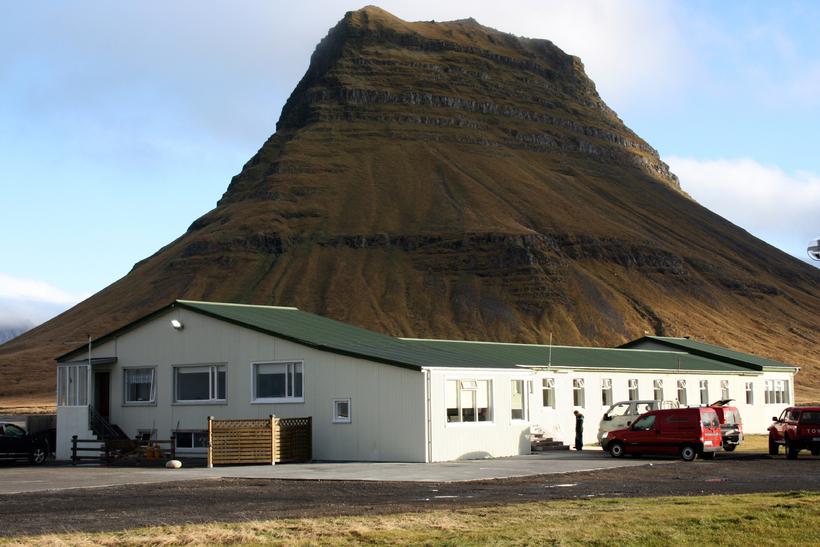 Fangelsið á Kvíabryggju við Grundarfjörð.