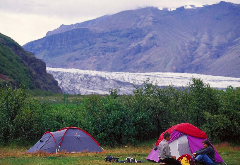 Tourists at Skaftafell have been regularly spotted going to the …