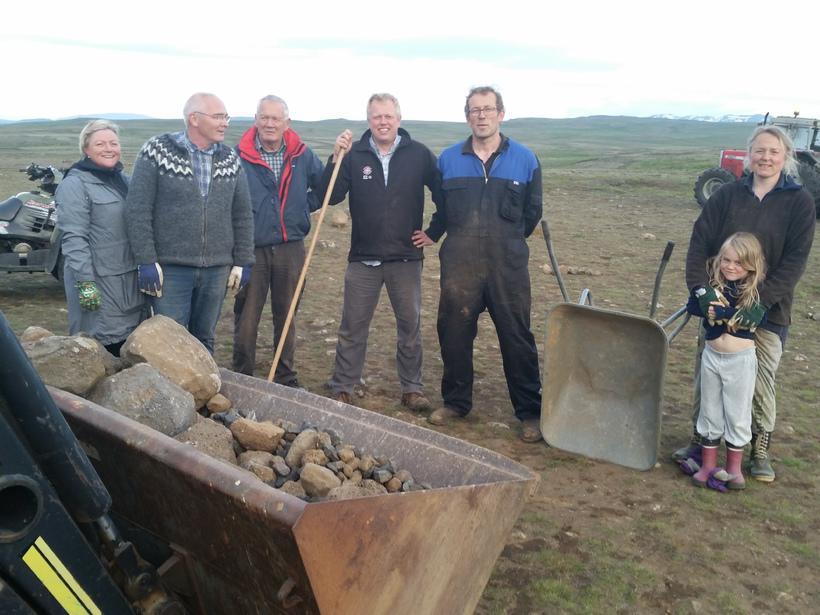 Jóhannes and Björg, farmers at Heiðarbær in Þingvellir to the ...