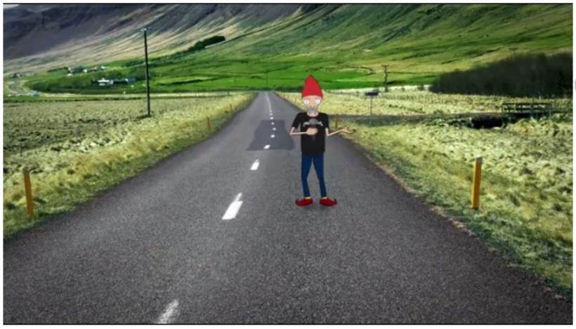 Elfis will guide you through the specifics of safe driving …