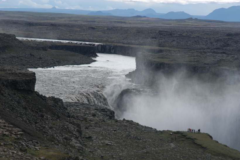 Dettifoss is one of Iceland's most popular tourist destinations.