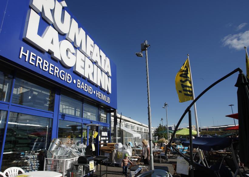 Rúmfatalagerinn hefur verið í stríði við IKEA á fleiri vígstöðvum ...