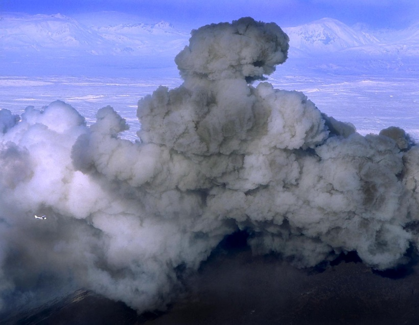 A Hekla eruption.