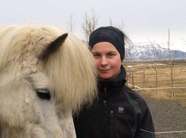 Barbara Wenzl og er frá Austurríki og stóð ekki á …