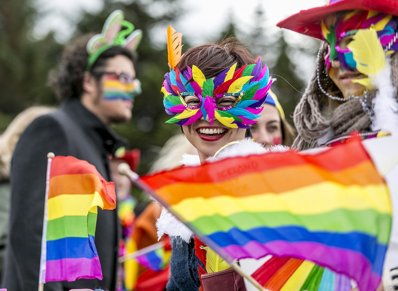 The parade is the high point of Reykjavik Pride for ...