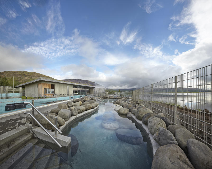Relax and unwind at the Laugarvatn Fontana Geothermal Baths.
