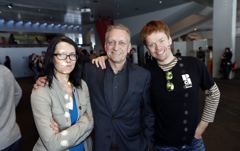 Marta Magdalena, Edwin K. Ben og Höskuldur Þór Höskuldsson