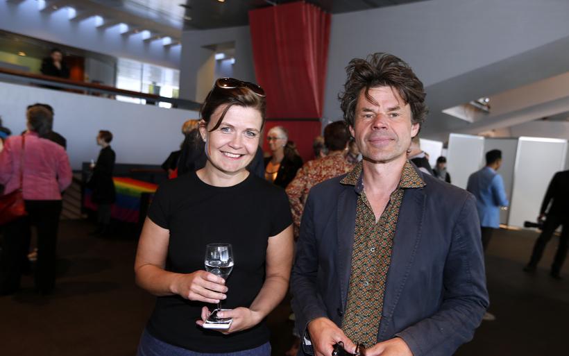Sóley Tómasdóttir og Hjálmar Sveinsson