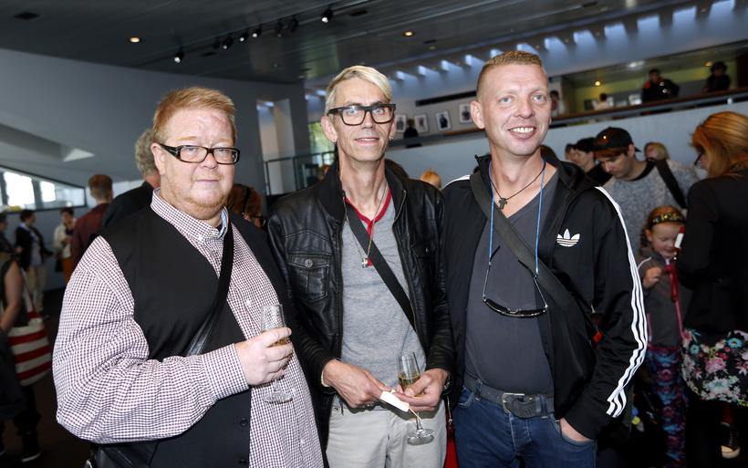 Friðrik Jón Aðalsteinsson, Ingi Rafn Hauksson og Magnús Þórhallsson