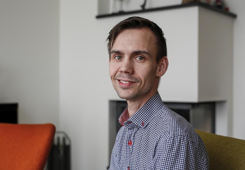 Grétar Bragi Bragason innbyrti þvottaduft fyrir tæpum 30 árum og ...