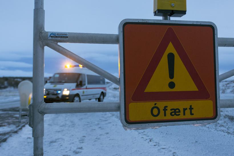 Vegagerðin hefur oft lokað Hellisheiði vegna ófærðar í vetur.