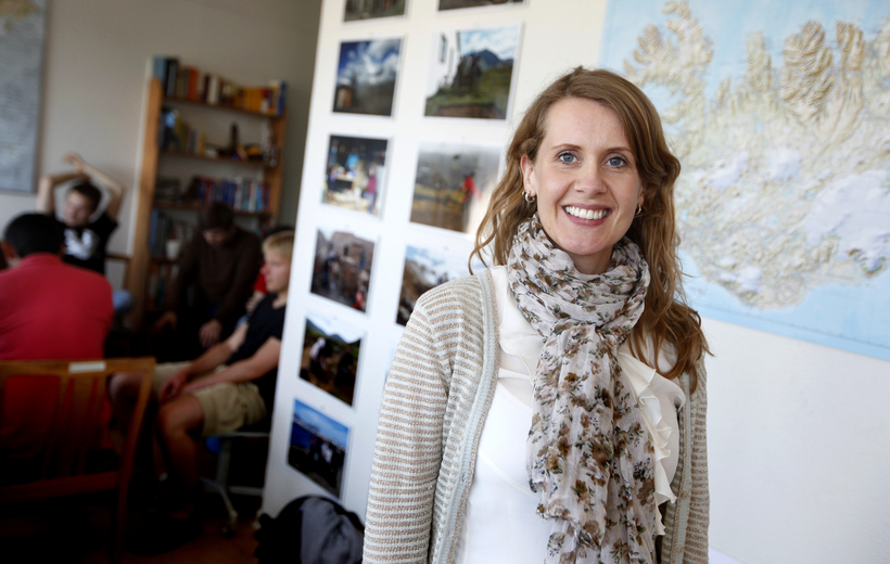 Anna Lúðvíksdóttir framkvæmdastjóri Íslandsdeildar Amnesty International.