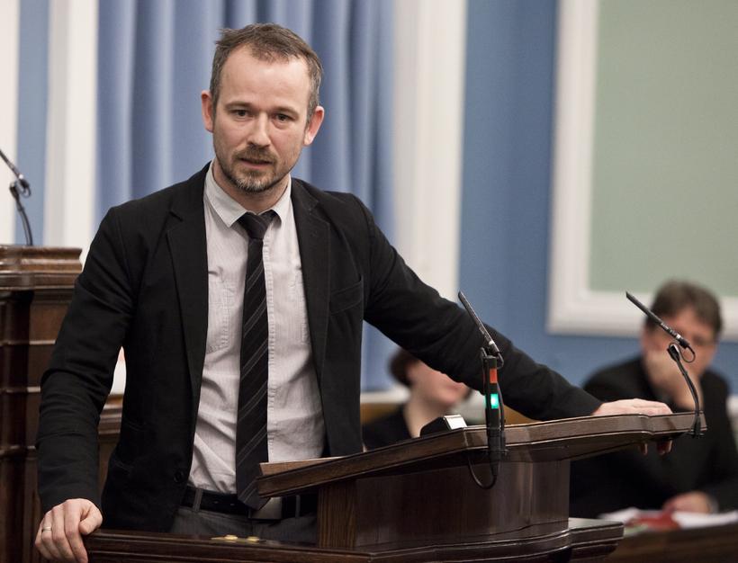 Róbert Marshall lætur af embætti þingflokksformanns Bjartrar framtíðar á ársfundi ...