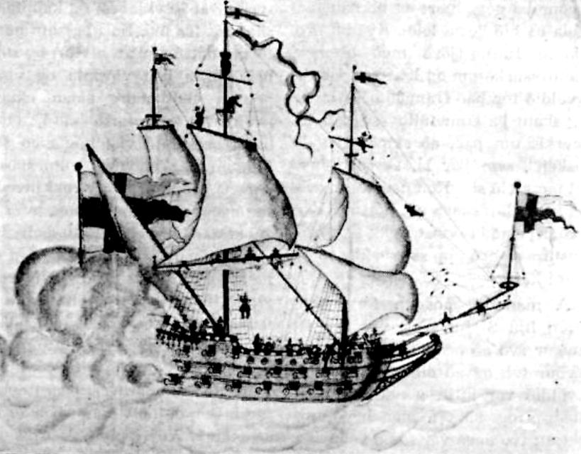 The Gothenburg ran aground in Iceland in 1718.