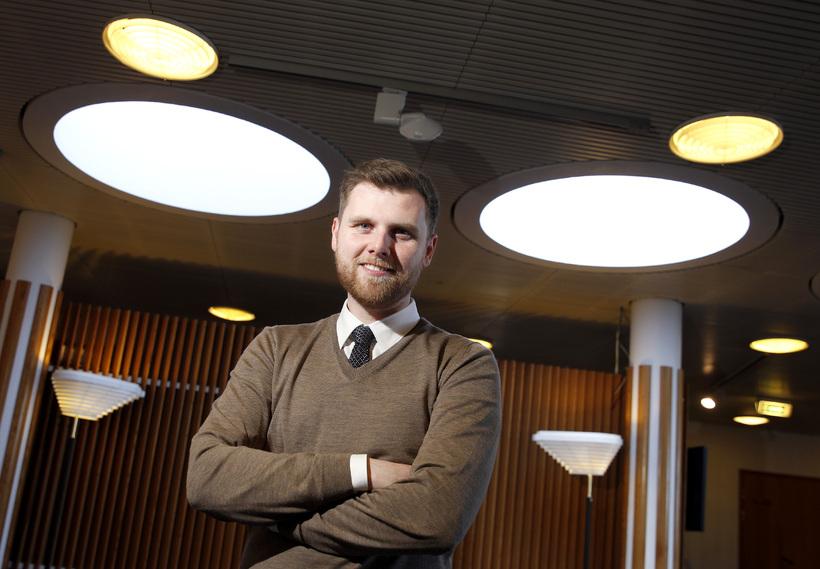 Sævar Helgi Bragason, formaður Stjörnuskoðunarfélags Seltjarnarness.