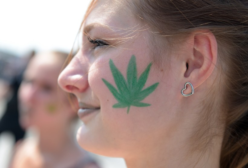 Cannabis use is proportionately highest in Iceland.