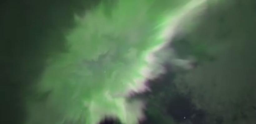 Astronomer Sævar Helgi Bragason captured an amazing video of Northern …