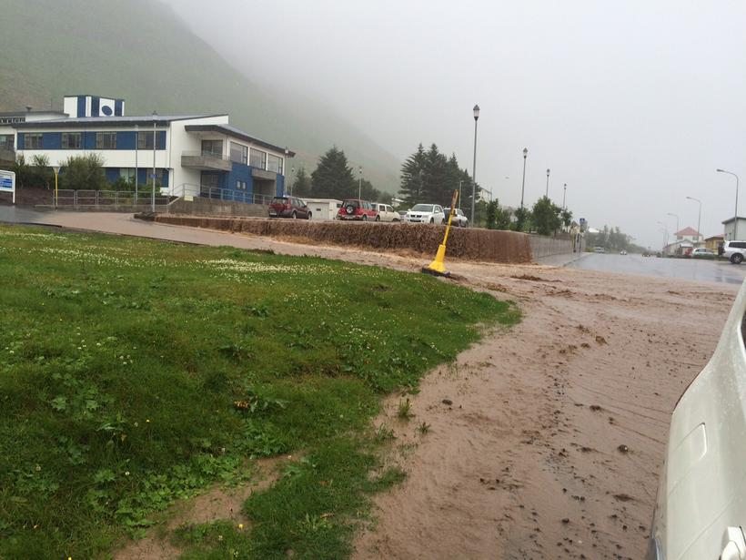 Up to 18cm of rain fell in just 48 hours.