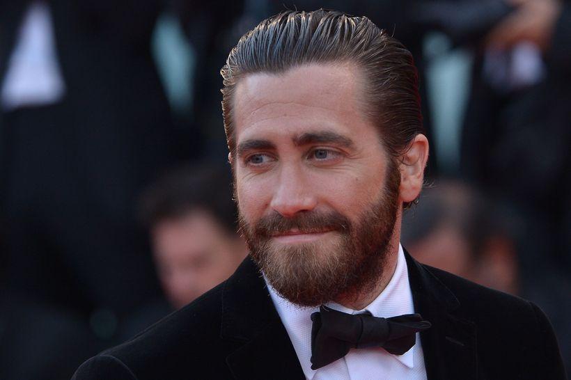 Jake Gyllenhaal tók sig vel út á rauða dreglinum.