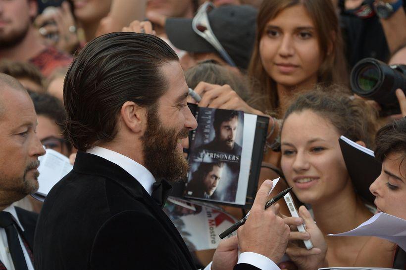 Svo virðist sem ítalskar konur séu hrifnar af Gyllenhaal.