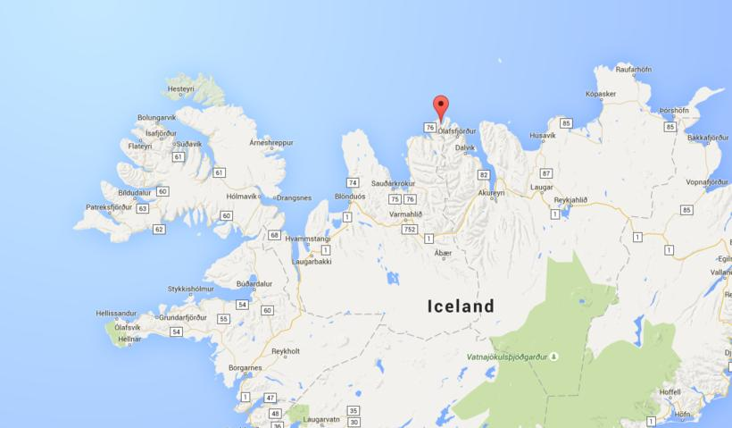 Fjallabyggð, North Iceland.