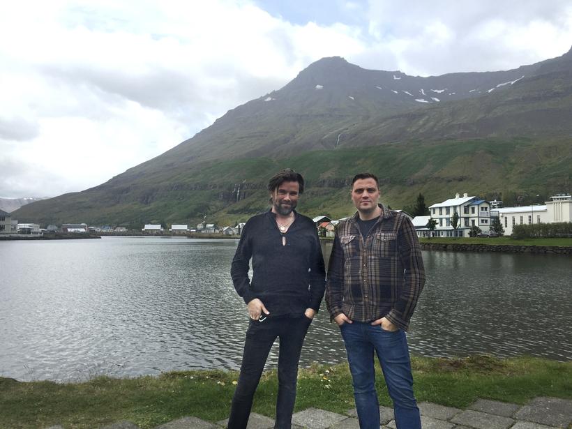 Davíð and Dýri.