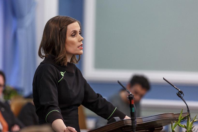 Katrín Jakobsdóttir, leader of the Left Green party wants Icelandic …