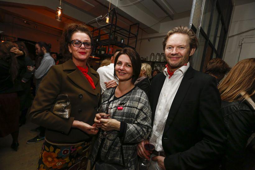 Áslaug Snorradóttir, Hlín Guðlaugsdóttir og Björn Ingi Hilmarsson.