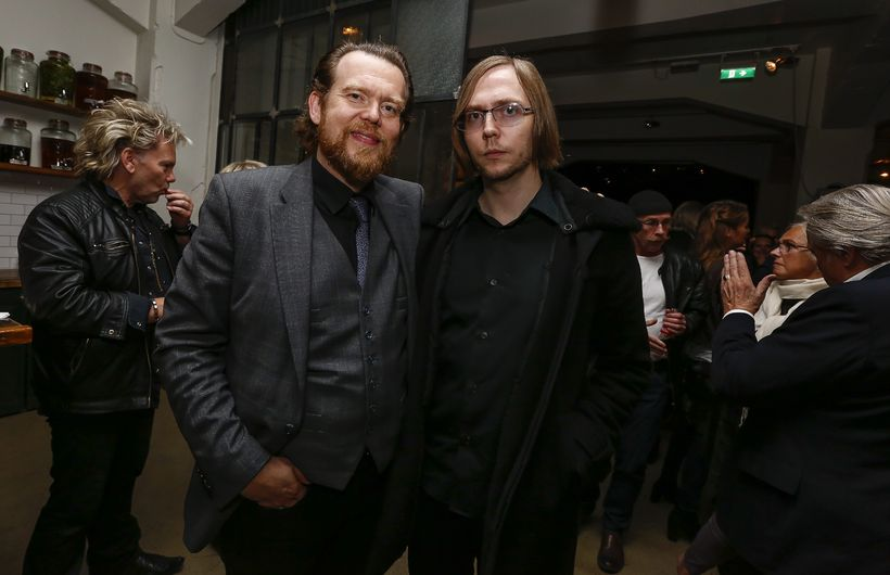 Frændurnir Björn Blöndal og Barði Jóhannsson.