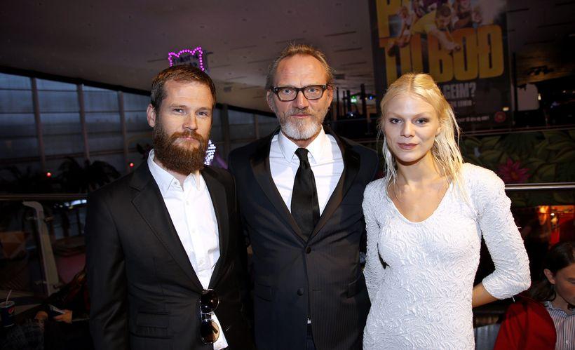 Jóhannes Arason, Ingvar E. Sigurðsson og Snæfríður Ingvarsdóttir.