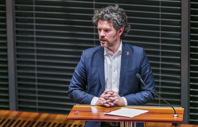 Mayor Dagur B.Eggertsson.