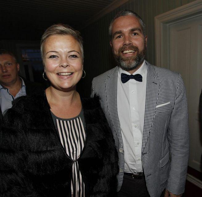Hjónin Hildur Eir Bolladóttir og Heimir Haraldsson.