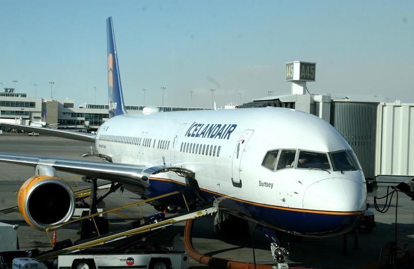 Icelandair is still the majority operator at KEF.