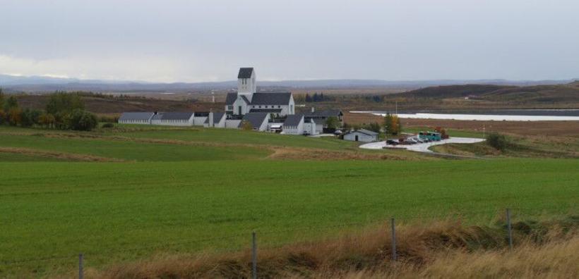 Skálholt, Iceland.