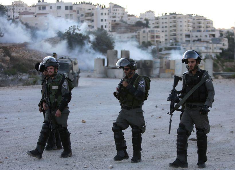 Israeli border police.