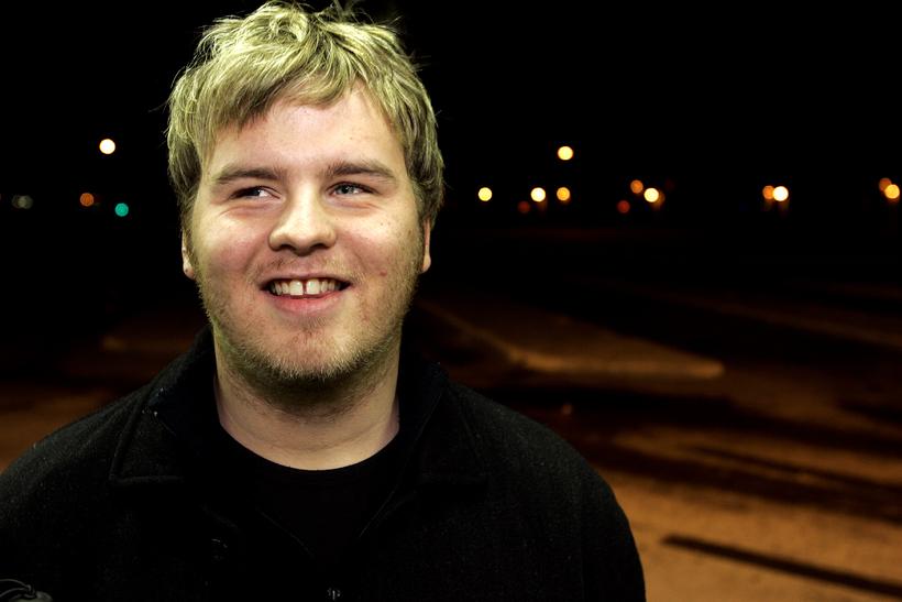 Bergvin Oddsson fyrrverandi formaður Blindrafélagsins.