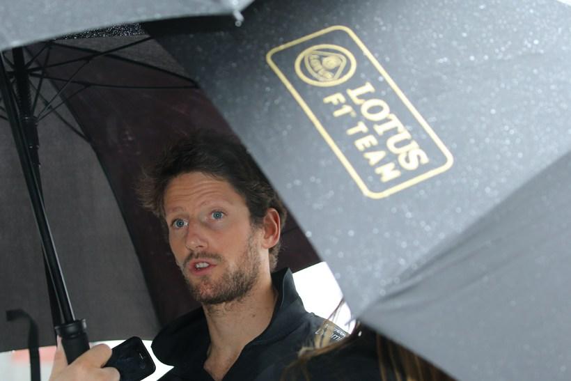 Romain Grosjean virðist á förum frá Lotus.