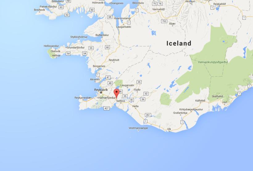 Hveragerði, South Iceland.